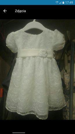 Sukieneczka do chrztu i na wesele