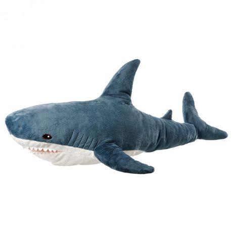 Мягкая игрушка Акула 60 см