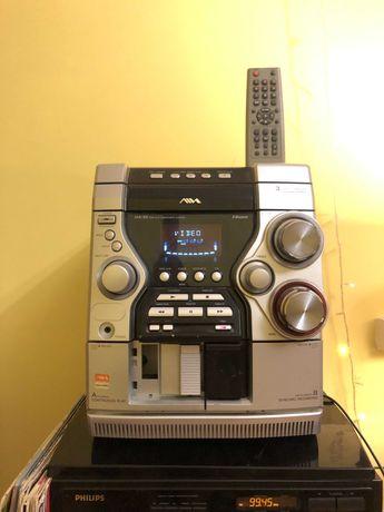 Музыкальный центр AIWA JAX-S3, девайс для AUX, цена символическая