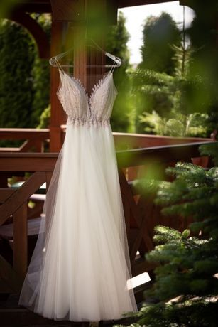 Suknia ślubna Anna Kara Heather 2019 boho