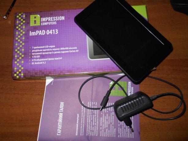 Планшет Impression ImPad 0413 (не вмикається)