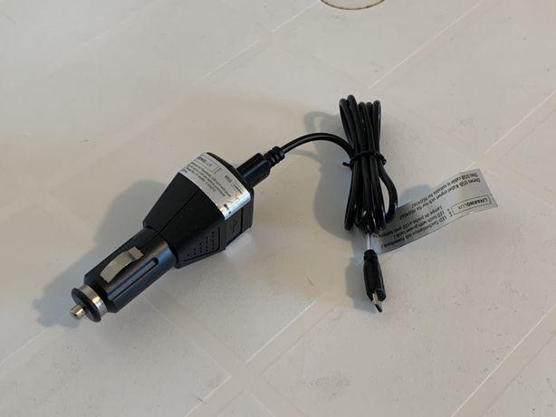 Carregador de Telemovel de Isqueiro 1A Com Cabo Micro USB LivarnoLux