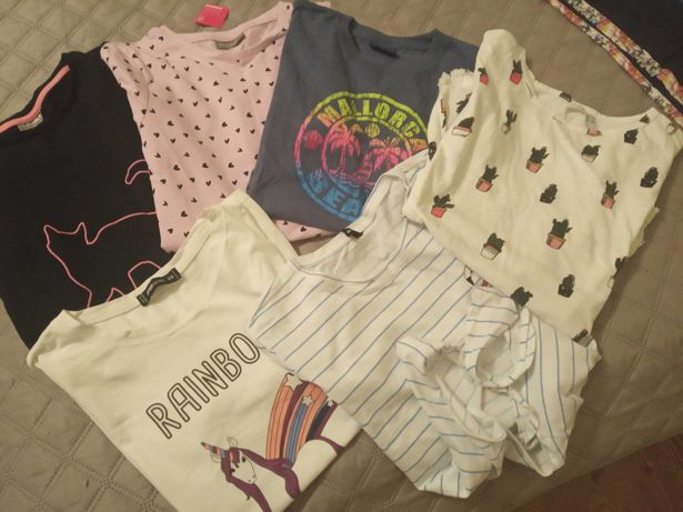 Zestaw koszulek dla dziewczynki