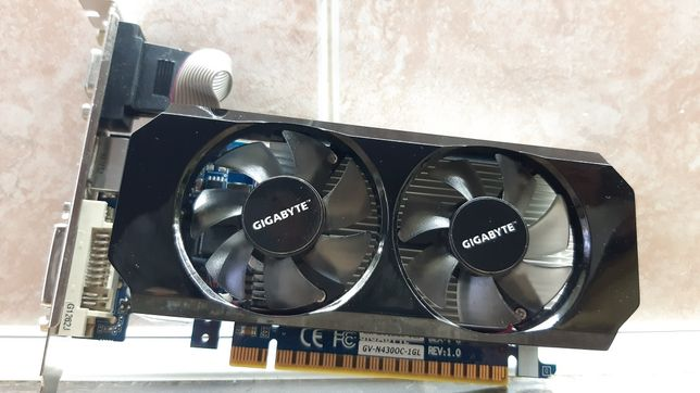 видеокарта GIGABYTE GT 430 1gb 128bit