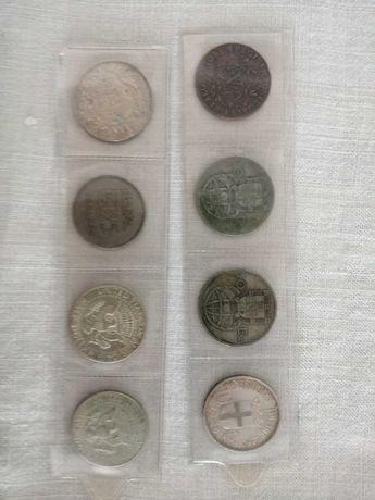 Lote de moedas de coleção