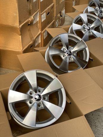 Диски Новые R15/5/112 Skoda Octavia A5 A7 VW Golf Jetta Passat Caddy