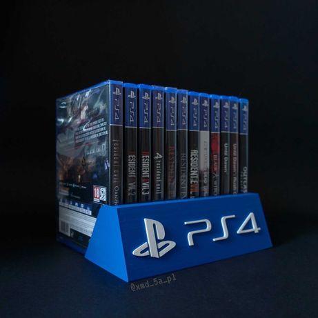 Podstawka na gry PS3 PS4 PS5 druk 3D