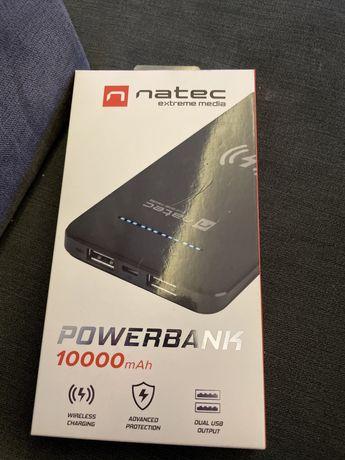 Powerbank Natec 10000 mAh z indukcyjnym ladowaniem