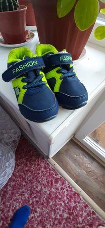 Кроссовки детские , осенняя обувь стелька 14 см