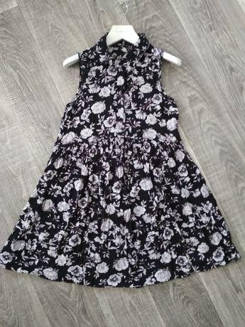 Подростковое летнее платье туника