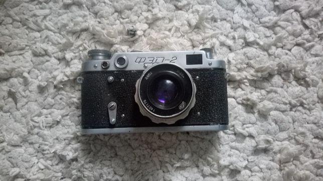Раритетный плёночной фотоаппарат фэд-2