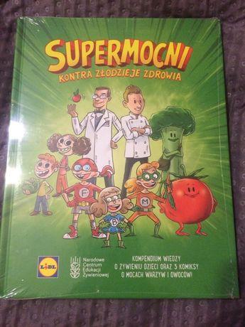 Komiks lidl Supermocni zamienie na lidlozaury