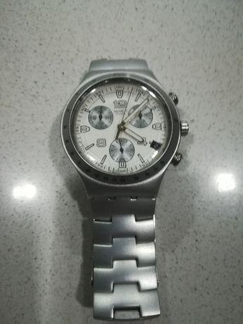 Relógio swatch aluminio
