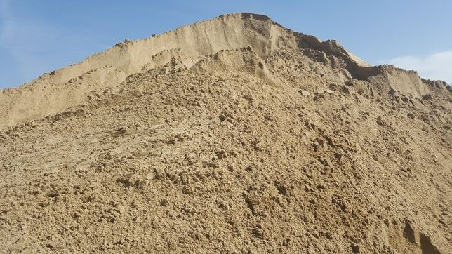 Piasek, piach, zasyp, podsypka pod kostkę, fundamentów