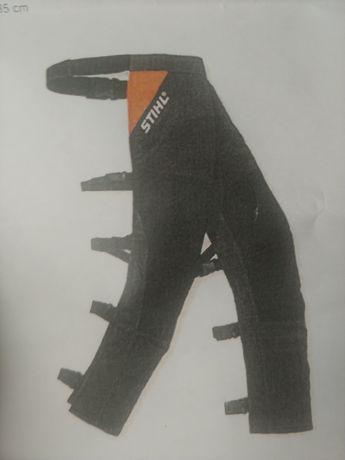 Nogawice z ochroną przed przecięciem STILH -Osłona przednia nóg. Nowe