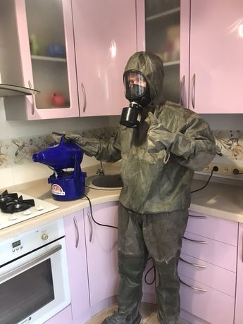 Дезинфекция в Харьков, уничтожение тараканов, клопов от 400 грн!