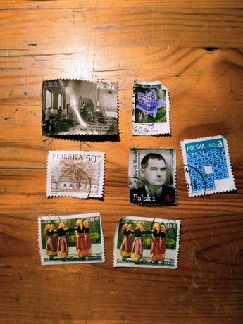 Znaczki z Polski, Niemiec i z Grecji