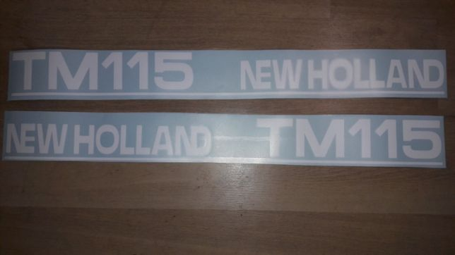 Naklejki New Holland tm115 tm 125 tm135 tm145 tm155 tm165