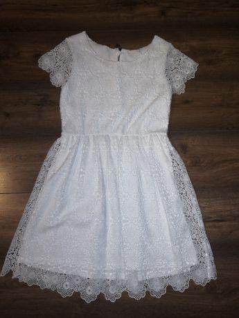 Gipiurowa sukienka rozmiar S M