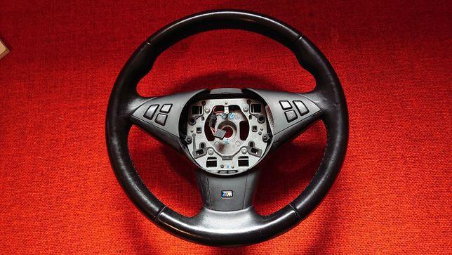 Kierownica BMW E60 E61 M-PAKIET 05-10r Palona na START-STOP
