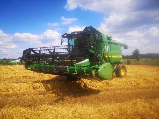 Usługi rolnicze. Koszenie zbóż i kukurydzy, orka, talerzowanie i inne