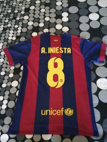 Camisola Barcelona 14/15 Iniesta 8