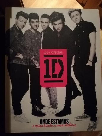 "Livro One Direction ""Onde estamos"""