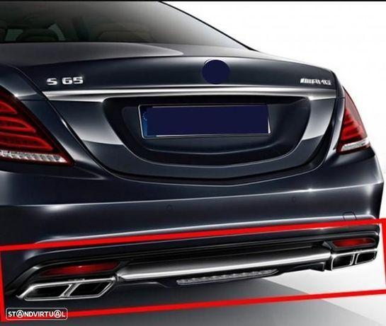 Ponteiras de escape Mercedes Amg - MERCEDES SL r231 S Coupe C217 S W222 CLS W218