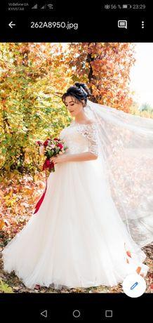 Продам срочно красивое свадебное платье