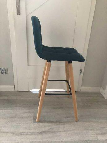 hoker krzesło pikowany