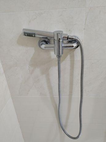 Misturador + Chuveiro duche + suporte