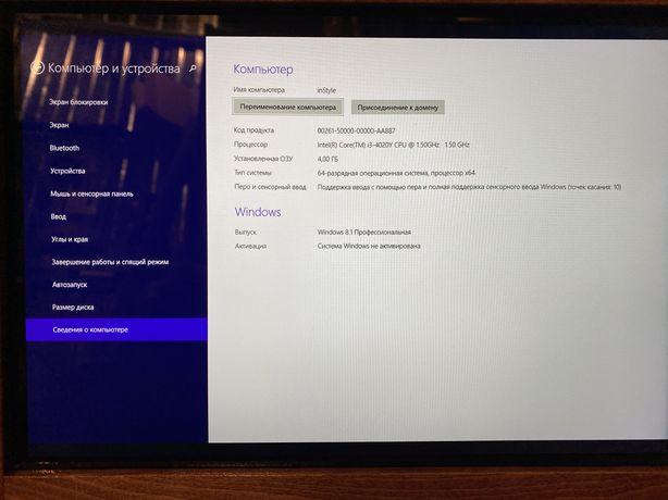Microsoft Surface Pro 3 , i3-4020Y, 1.5 GHz, 4Gb, 64Gb