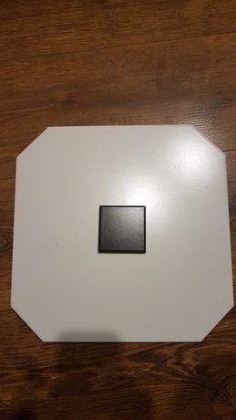 Płytki oktagon biale i czarne