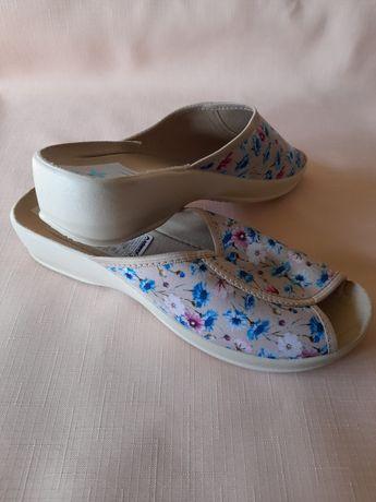 Nowe nieużywane polskie pantofle damskie BIO rozmiar 39 i  41