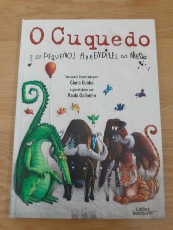 Livro O Cuquedo e Dra. brinquedos- Infantil (novo)