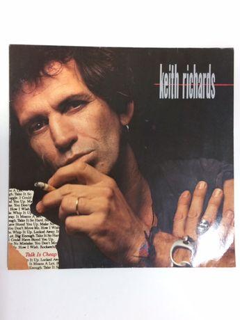 "Płyta winylowa ""Talk Is Cheap"" Keith Richards 1988r"