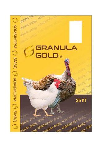 Комбикорма и БМВД Granula gold