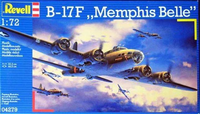 Revell 04279 B-17F Memphis Belle Skala: 1:72