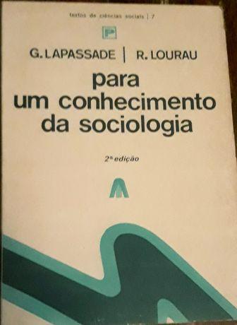 G. Lapassade - para um conhecimento da sociologia