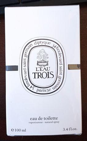 Diptyque L'Eau Trois 100 ml nowe folia