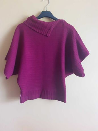 Krótki burgundowy sweter Levi's rozmiar M