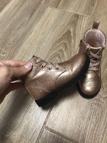 Ботинки утеплені h&m 16 cм