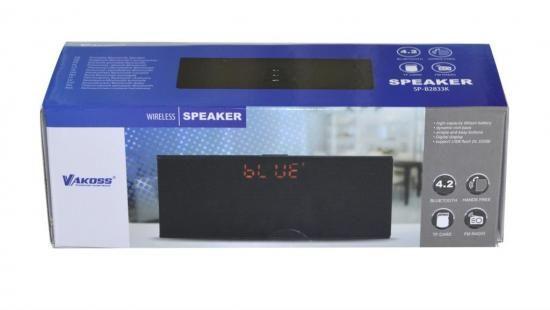 Głośnik bezprzewodowy Vakoss SP -2823BK