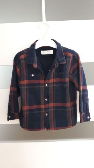 Bluza koszula zara r 92 krata