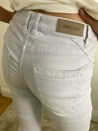 MARC CAIN Collections jeansy spodnie skinny N1 XS/S