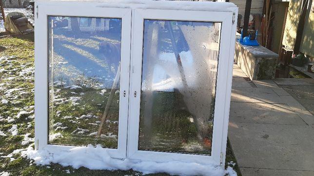 Okno PCV białe 172 na 140