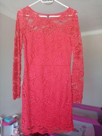 Sukienka XS koronkowa