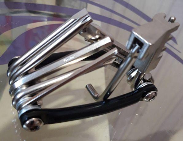 Мультитул 11 в 1 EA 14 набор отверток ключей для ремонта велосипеда