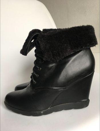 Зимние ботинки на платформе Ronzo 41 размер