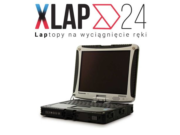Pancerny Wytrzymały Laptop Panasonic CF-19 16GB RAM 120GB SSD XLAP24